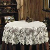 Round Lace Tablecloth Vintage And Modern Round Lace